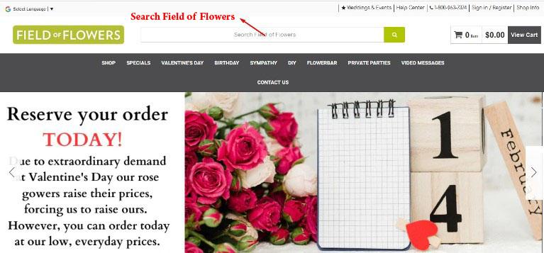 Flower bar guide