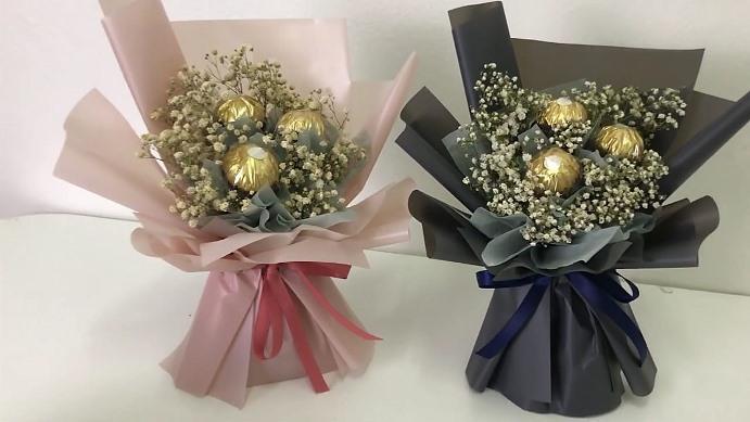 Chocolate ferrero rocher bouquet