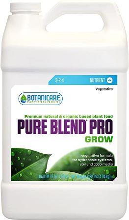 Botanicare fertilizer pure blend for Snake plant